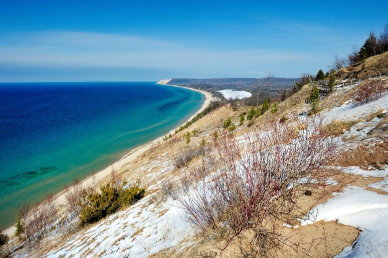 Michigan: Sleeping Bear Dunes (Empire)