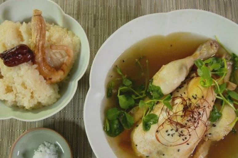 Magical chicken ginseng soup recipe by judy joo magical chicken ginseng soup cooking channels korean food made simple forumfinder Gallery