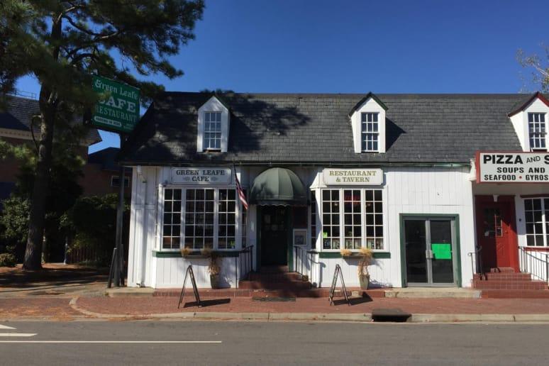 Green Leafe Cafe, College of William & Mary, Williamsburg,Va.