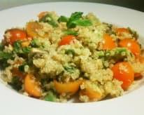 Avocado Mint Quinoa Salad