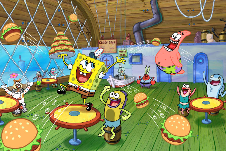 Krusty Krab, Spongebob Squarepants