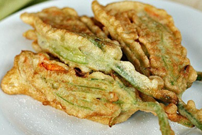 Pan-Fried Zucchini Flowers