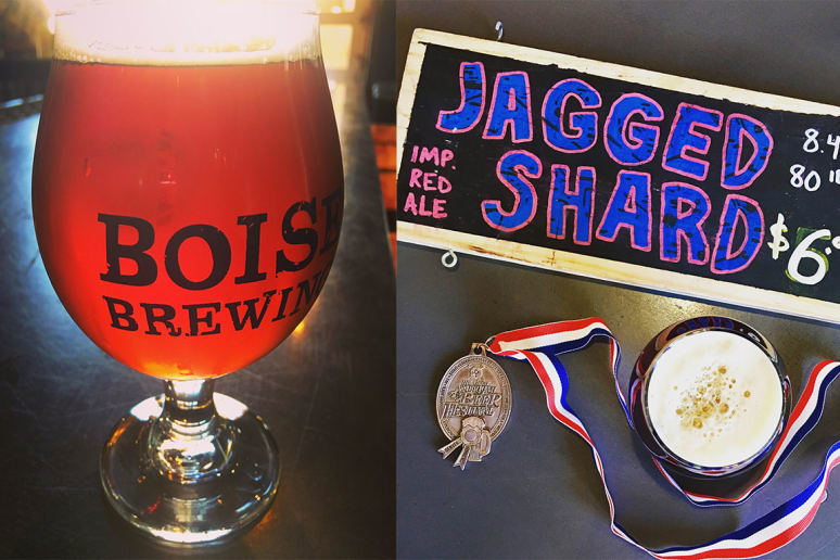 Boise Brewing Jagged Shard