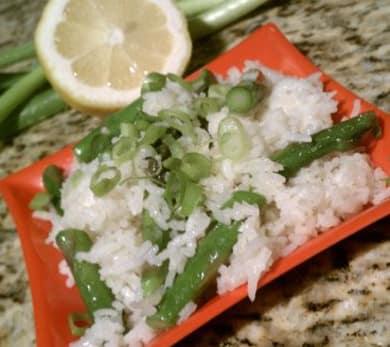 Asparagus Rice Pilaf