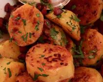 Crisp Potatoes with Spanish Chorizo