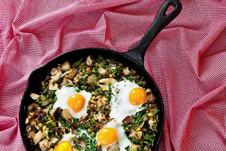 Kickin' Chicken Hash Recipe