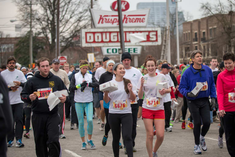 There's a 'Krispy Kreme Challenge' Race in Raleigh Every Year