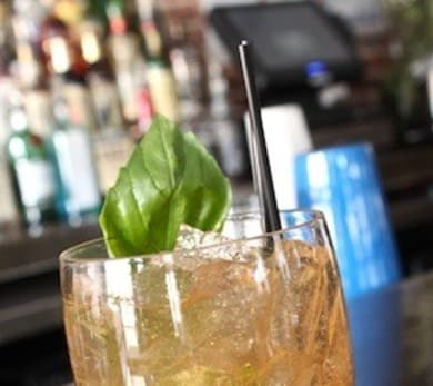 Spicy Basil Cocktail