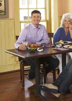 Paula Deen's Sons on the Move   Cookbooks   Iron Chef