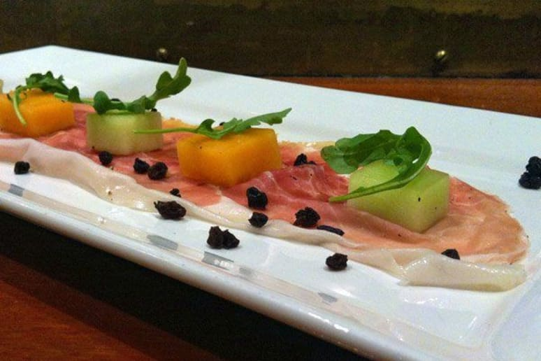 Proscuitto di Parma with Agrodolce Melon