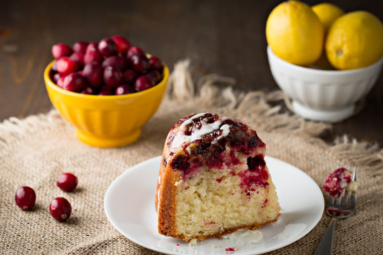 The Barefoot Contessa's Cranberry and Apple Cake