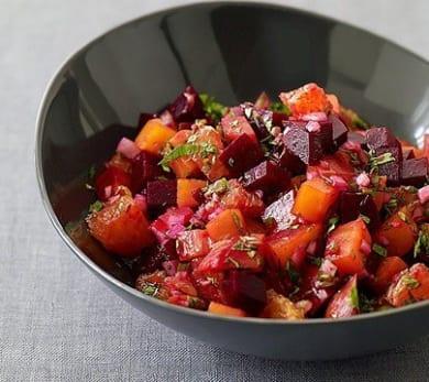 Roasted Beet and Orange Salsa