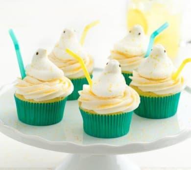 Lemonade Peeps Cupcakes