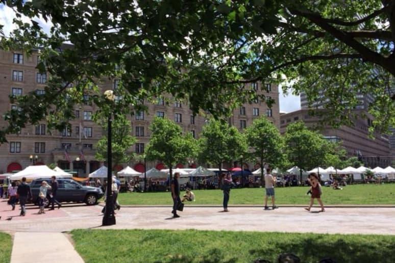 Best Farmers Market: Boston Copley Square Farmers Market, Boston