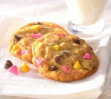 Springtime Chocolate Chip Cookies