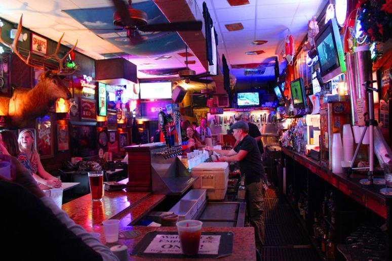 Salty Dog Saloon, University of Florida, Gainesville, Fla.