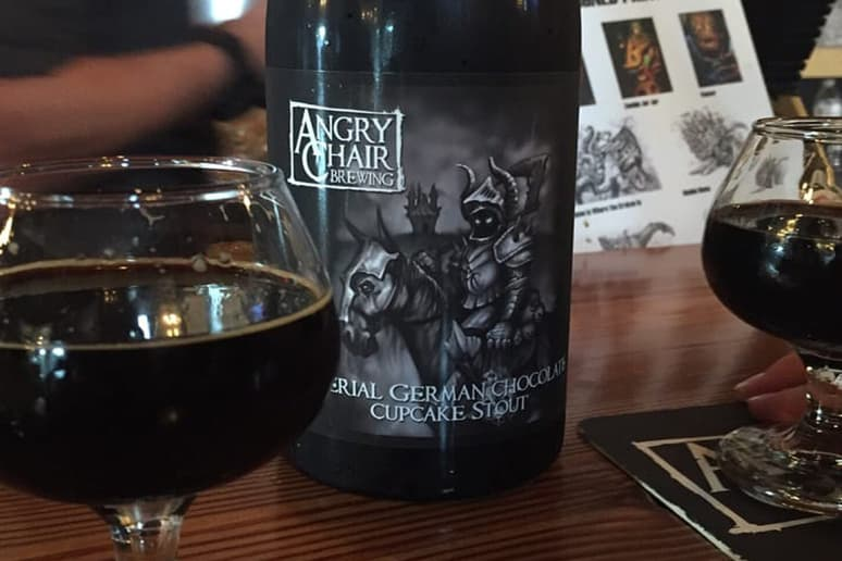 Angry Chair German Chocolate Cupcake Stout