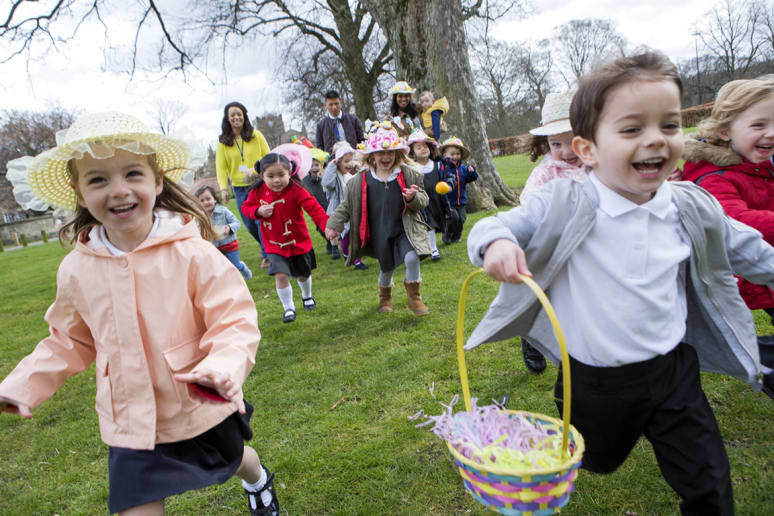 The Classic Easter Egg Hunt