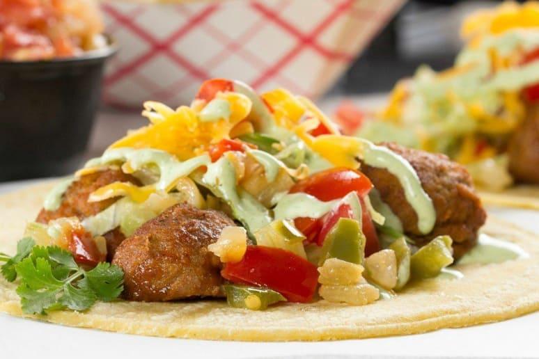 meatball street tacos