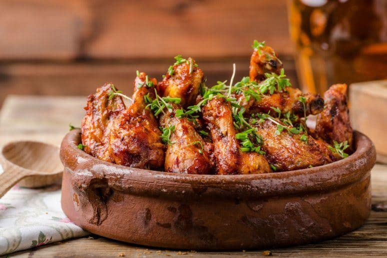 Spicy Grilled Wings