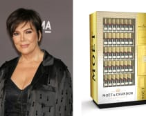 Kris Jenner and Champagne Vending Machine