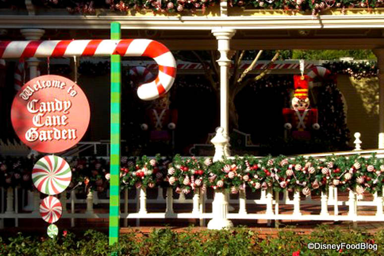 Walt Disney World's Candy Cane Garden (Orlando, Fla.)
