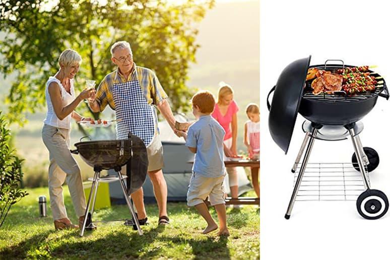 Beau Jardin Charcoal grill 17-Inch, $47.99