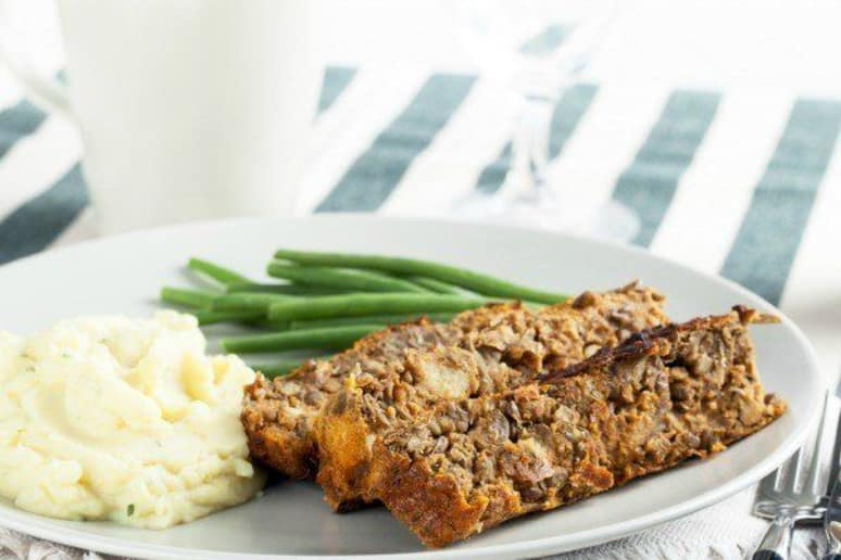 Can a Lentil-and-Nut Loaf Convert a Carnivore?