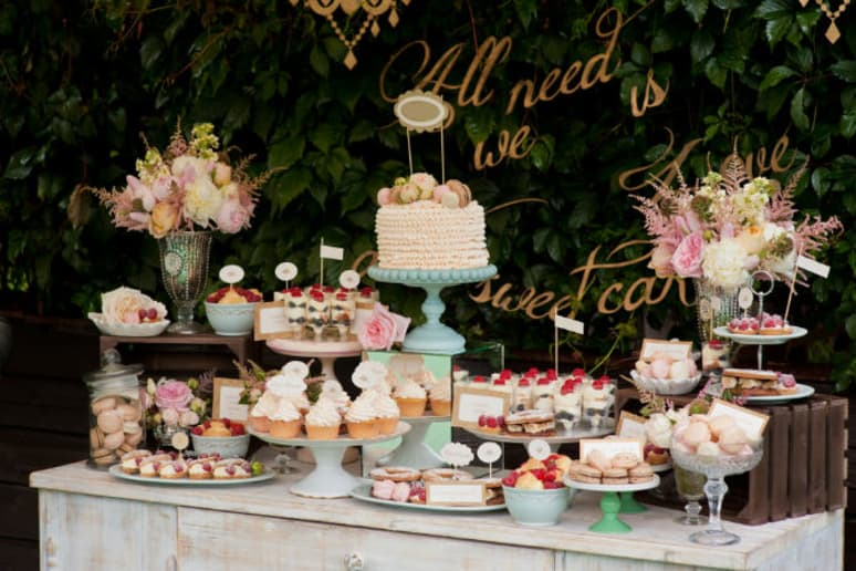 Make A Dessert Table So Fabulous Your Guests Will Forget The Wedding Cake