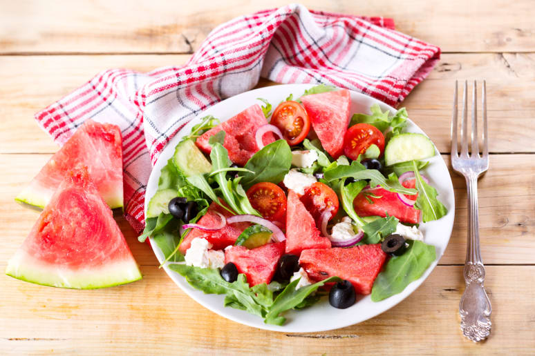 Healthiest: Watermelon Salad