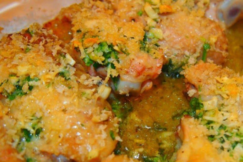 Crispy Garlic Parmesan Wings