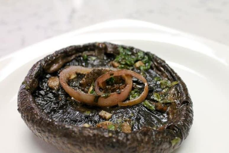 Roasted Balsamic Portobello Mushrooms
