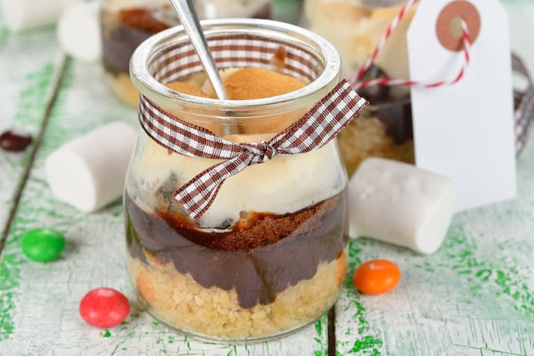 S'Mores in Jars
