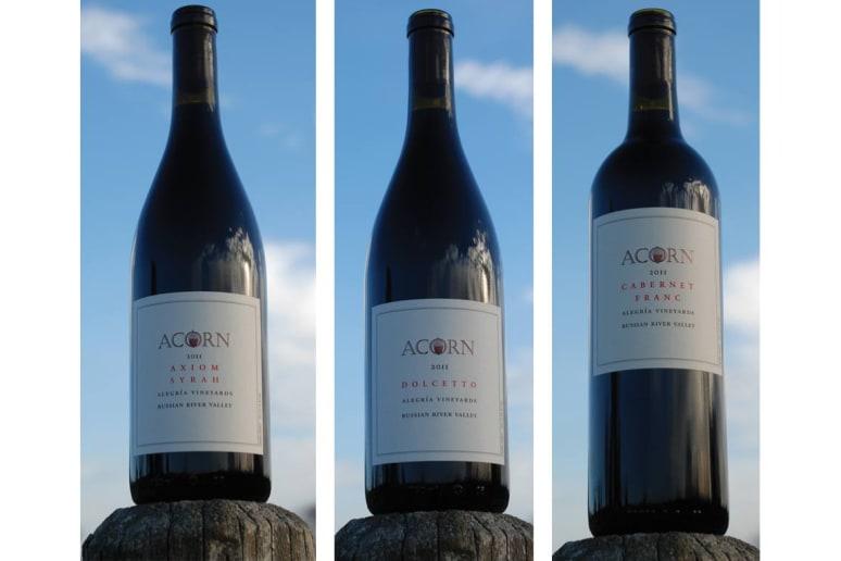 33. Acorn Winery, Healdsburg, Calif.