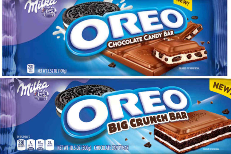 Oreo can now be found in the chocolate aisle for the first time.