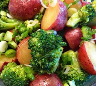 Red Potato Salad with Broccoli