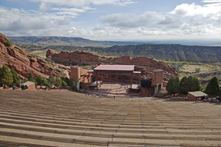 Colorado: Red Rocks Amphitheater (Morrison)