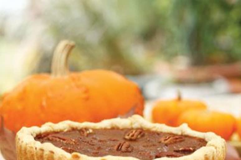 Pumpkin Pecan Tarts