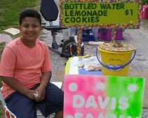 This kid is just as sweet as the lemonade he sold to thousands.