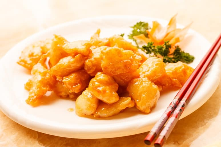 Avoid:Sweet and Sour Chicken