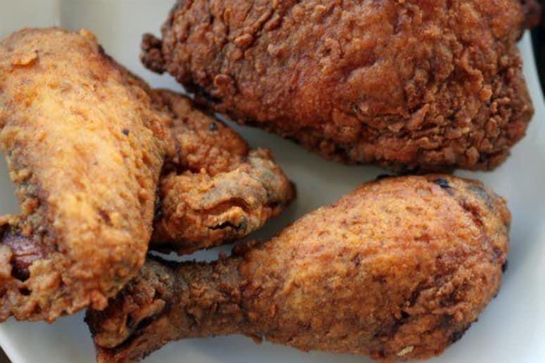 Saffron Fried Chicken