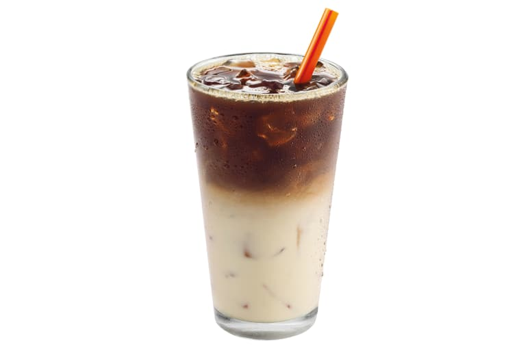 Healthiest: Iced Macchiato With Skim Milk