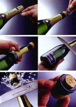 Luxury Hotels Bring Back Traditional Champagne Sabering Ritual