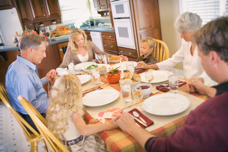 Where You Sit at the Thanksgiving Table Says a Lot About You (and Your Family)