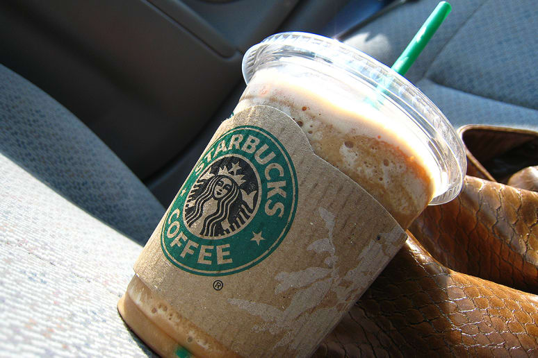10. Coffee Light Frappuccino Blended Coffee