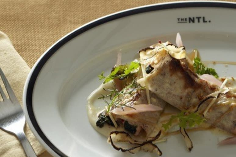 Hazelnut and Lobster Cannelloni