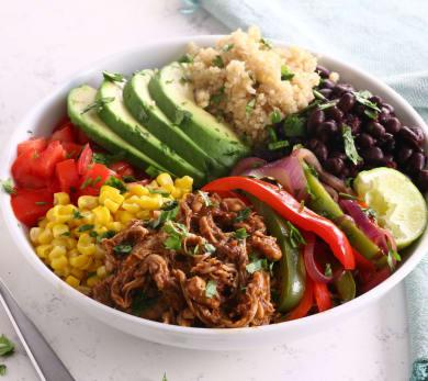 Chicken Mole Quinoa Bowl