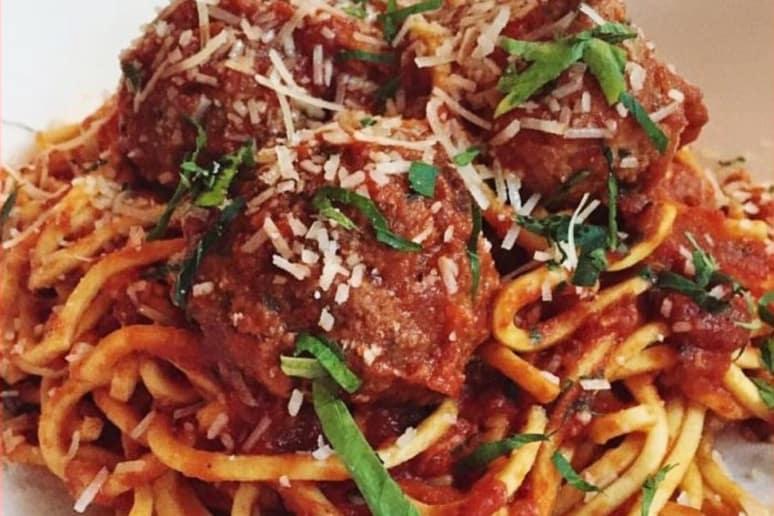 Best Spaghetti and Meatballs: Stella, Boston