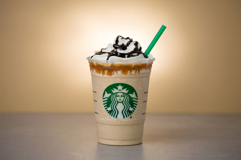 4. Caramel Cocoa Cluster Frappuccino Blended Coffee