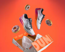 dunkin' donuts saucony shoes